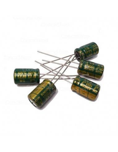 Condensador 6.3V 1000uF 105º SUNCON WG baja impedancia LOWESR