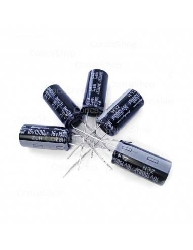 Condensador 16V 1500uF 105º RUBYCON ZLH  larga duración LOWESR