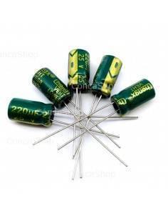 Condensador 25V 220uF 105º baja impedancia LOWESR