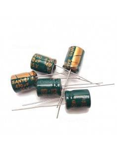 Condensador 35V 470uF 105º SANYO WG baja impedancia LOWESR