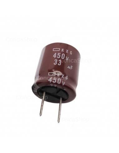 Condensador 450V 33uF 105º NCC KXG long life
