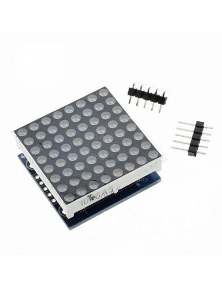 Display 8x8puntos y MAX7219 SMD