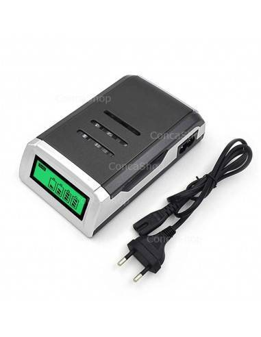 Cargador baterias AA/AAA PL-NC05