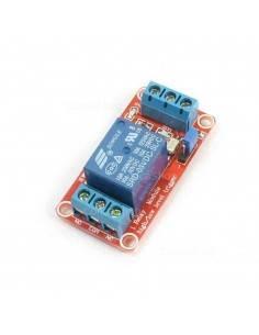 Módulo relé 5V 1ch 250V 10A H/L ficha conexión