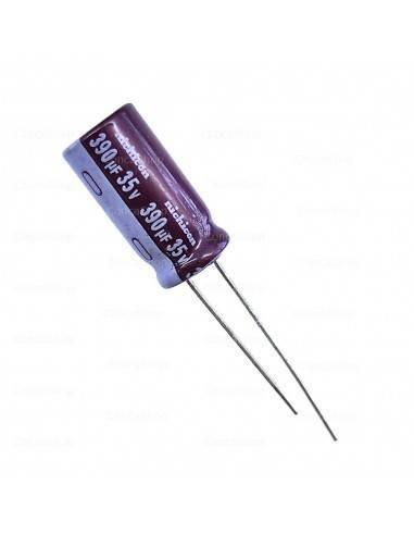 Condensador 35V 390uF 105º NICHICON long life