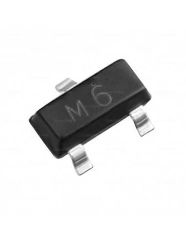 M6 S9015 SOT23 Transistor SMD