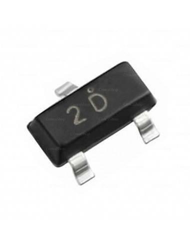 2D MMBT92 SOT23 Transistor SMD
