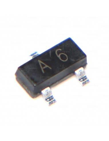 Diodo SMD conmutación SMD BAS16 A6 75V 150mA