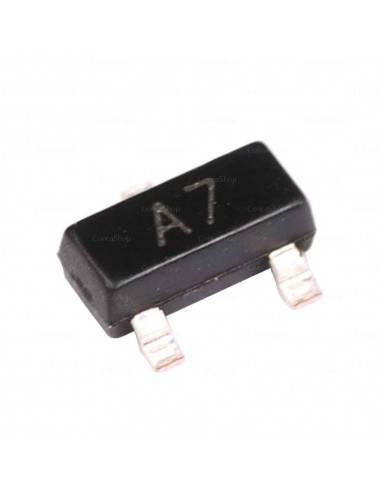 Diodo SMD conmutación SMD BAV99 A7 70V 200mA
