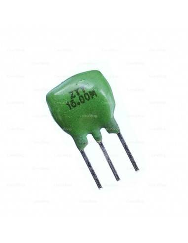 Resonador cerámico ZTT16.0MX 3 pins