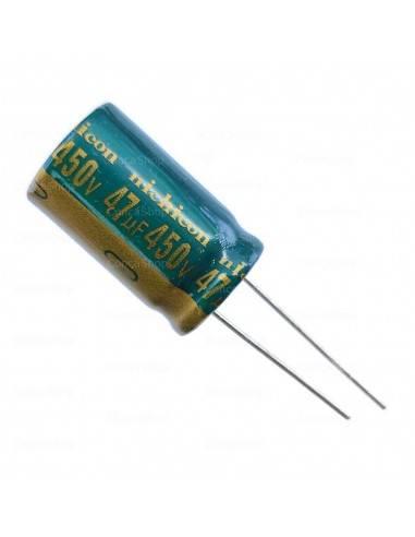 Condensador 450V 47uF 105º NICHICON CY long life