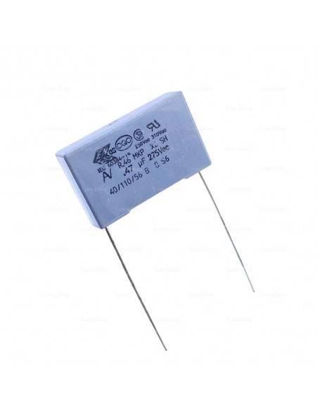 Condensador KEMET R46 275VAC 0.47uF X2 MKP supresor EMI