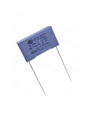 Condensador KEMET R46 275VAC 0.22uF X2 MKP supresor EMI