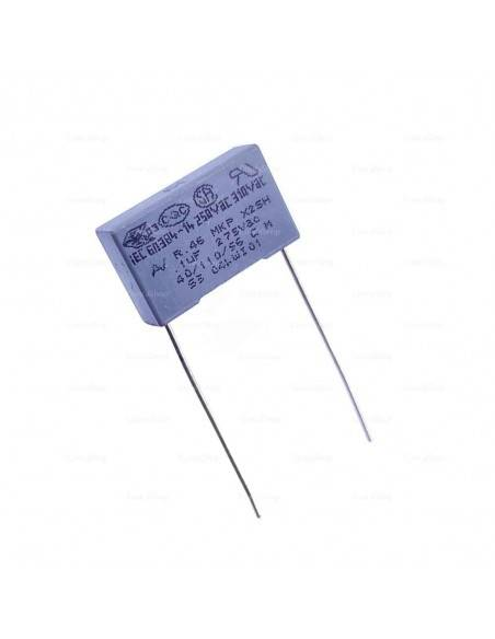 Condensador KEMET R46 275VAC 0.1uF X2 MKP supresor EMI