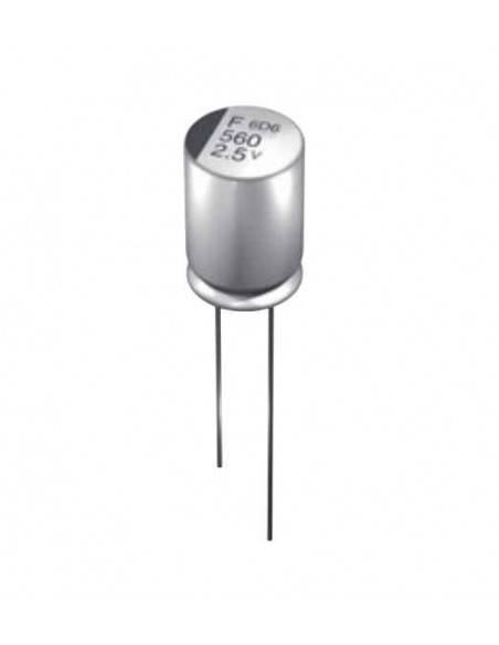 Condensador aluminio estado sólido NCC F 16V 270uF 105º