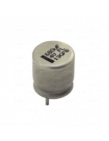 Condensador aluminio estado sólido PANASONIC FL 4V 680uF 105º