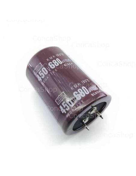 Condensador 450V 680uF 105º Snap In NCC KMH
